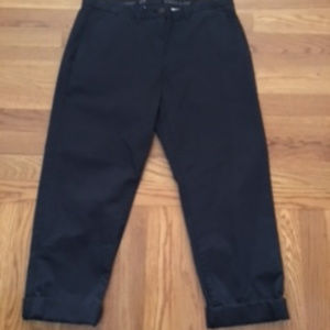 Khakis by Gap capri size 4